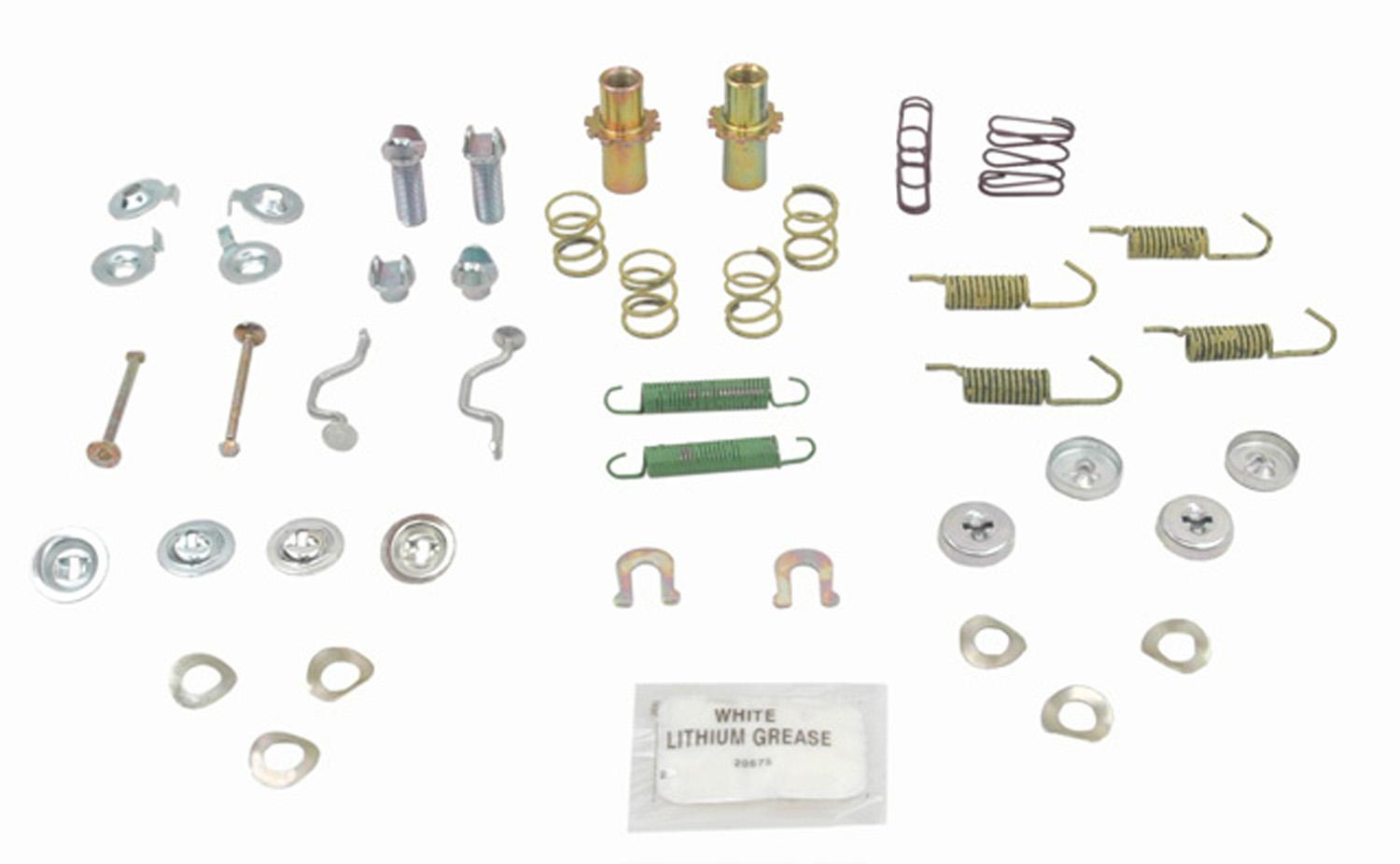 ACDELCO PROFESSIONAL BRAKES - Parking Brake Hardware Kit (Rear) - ADU 18K1193