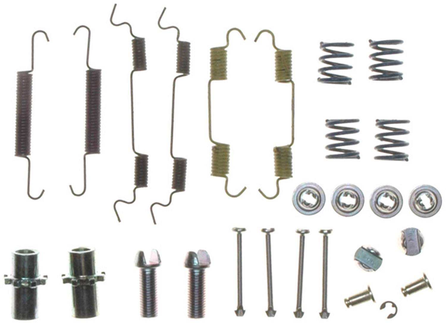 ACDELCO PROFESSIONAL BRAKES - Parking Brake Hardware Kit - ADU 18K1212