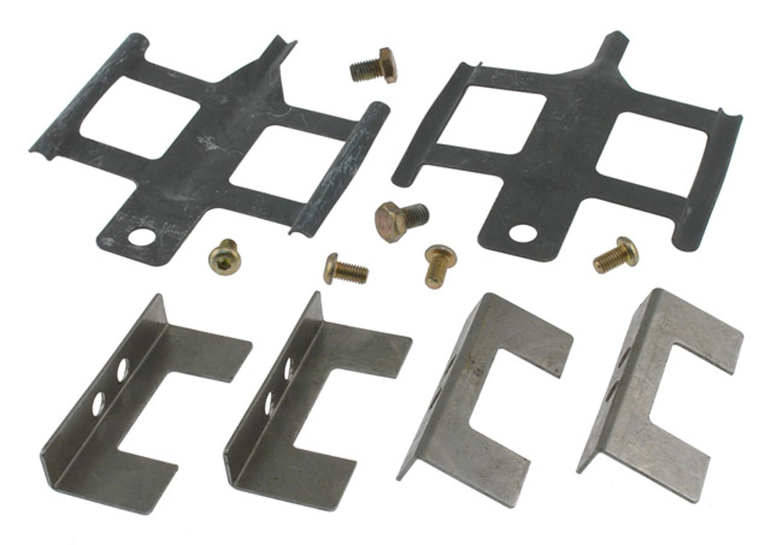 ACDELCO GOLD/PROFESSIONAL BRAKES - Disc Brake Hardware Kit (Front) - ADU 18K1562X
