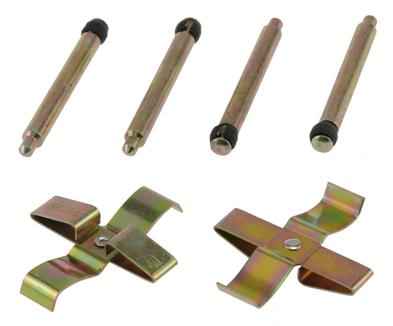 ACDELCO PROFESSIONAL BRAKES - Disc Brake Hardware Kit (Rear) - ADU 18K1563X