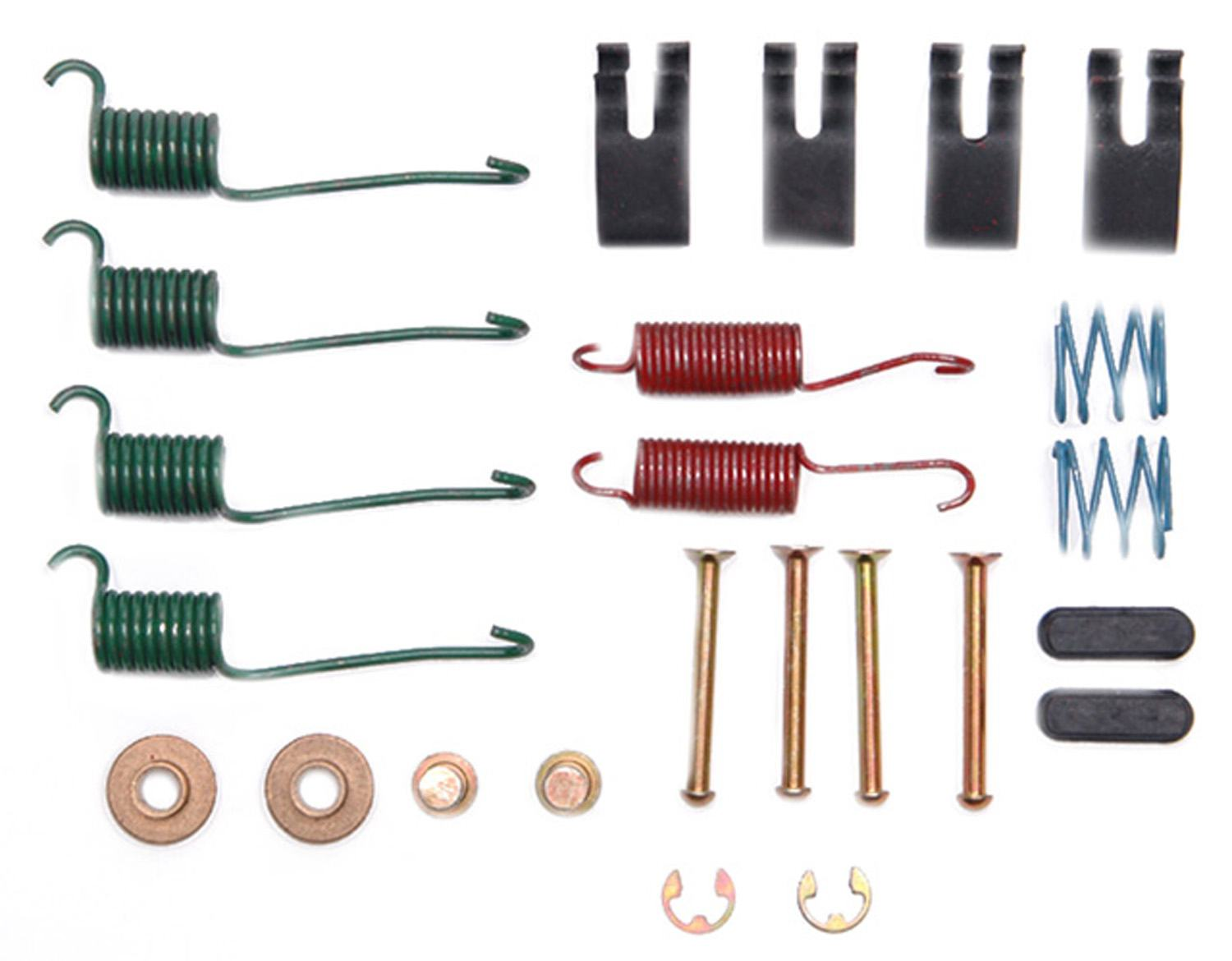 ACDELCO PROFESSIONAL BRAKES - Drum Brake Hardware Kit (Rear) - ADU 18K1620