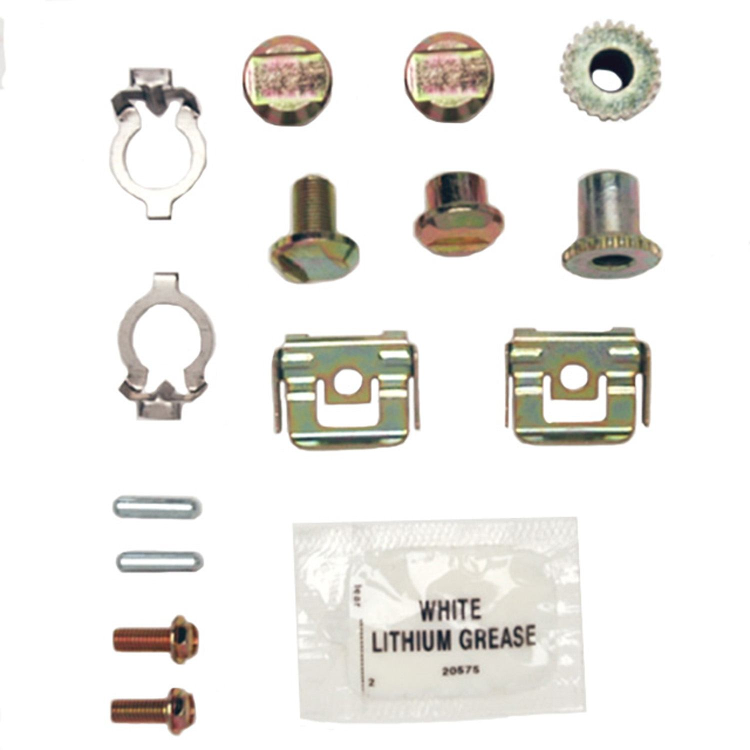 ACDELCO GOLD/PROFESSIONAL BRAKES - Parking Brake Hardware Kit (Rear) - ADU 18K1626