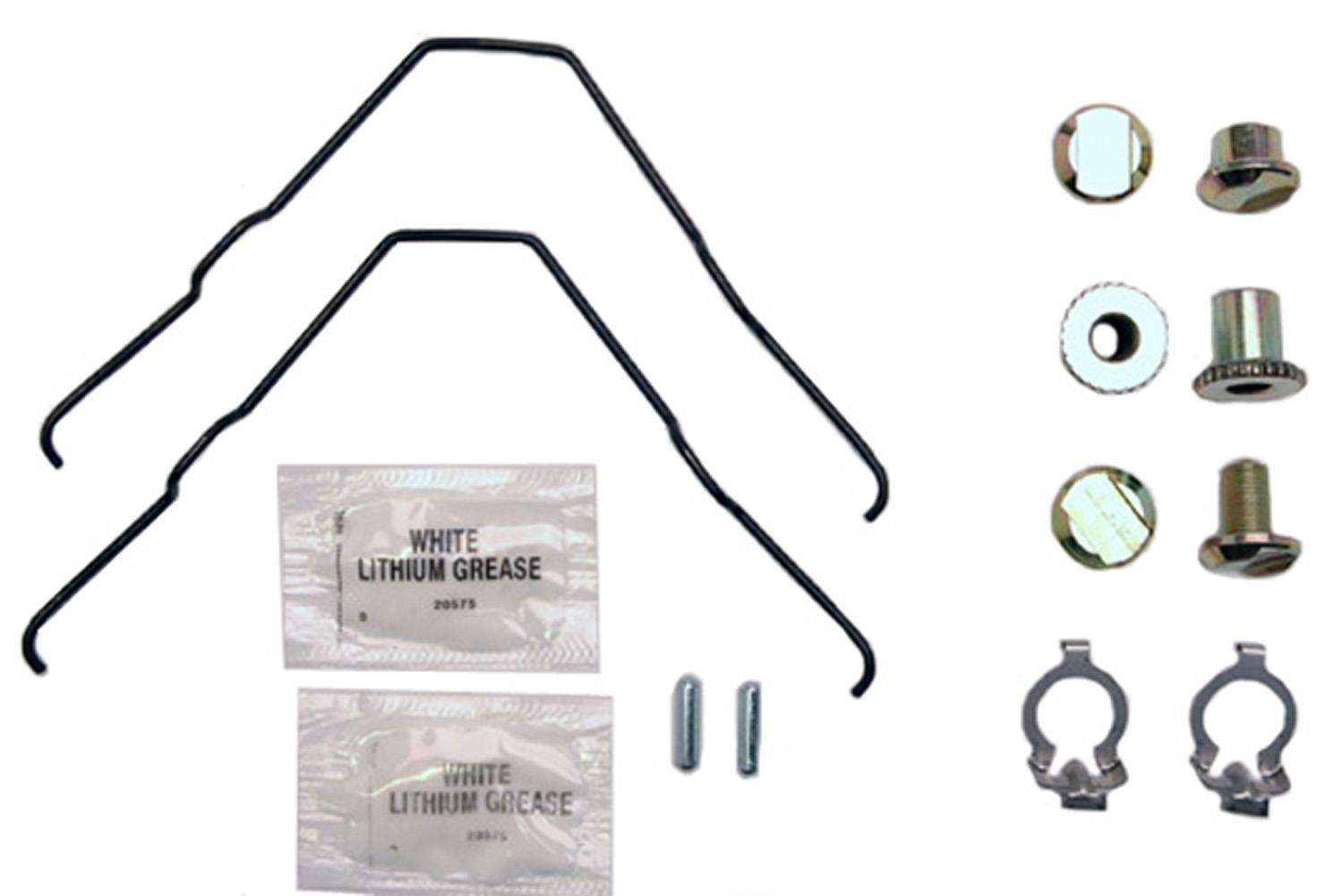 ACDELCO GOLD/PROFESSIONAL BRAKES - Parking Brake Hardware Kit (Rear) - ADU 18K1627