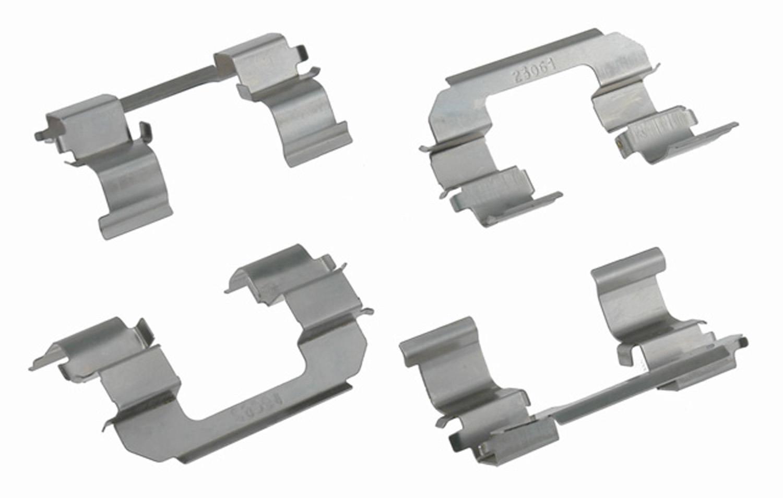 ACDELCO PROFESSIONAL BRAKES - Disc Brake Hardware Kit (Front) - ADU 18K1687X