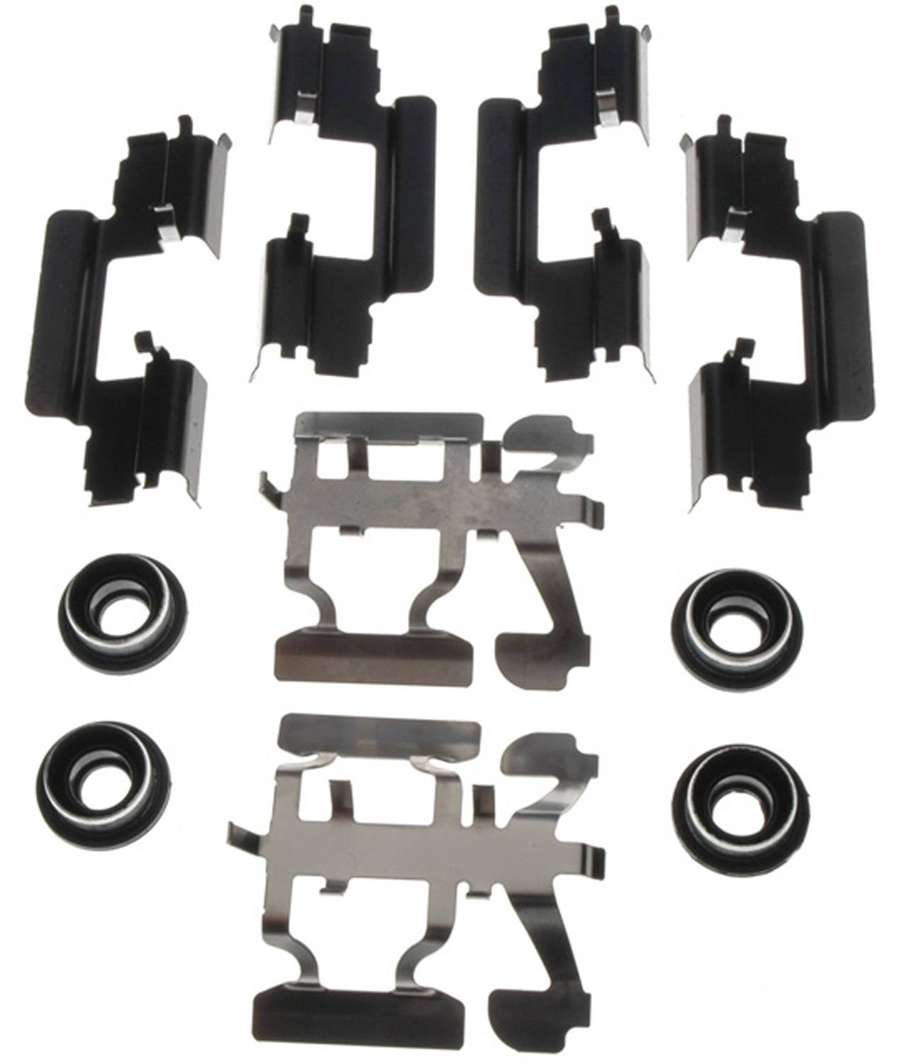 ACDELCO GOLD/PROFESSIONAL BRAKES - Disc Brake Hardware Kit (Rear) - ADU 18K1727X