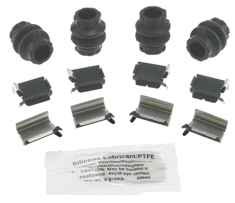 ACDELCO PROFESSIONAL BRAKES - Disc Brake Hardware Kit (Front) - ADU 18K1735X