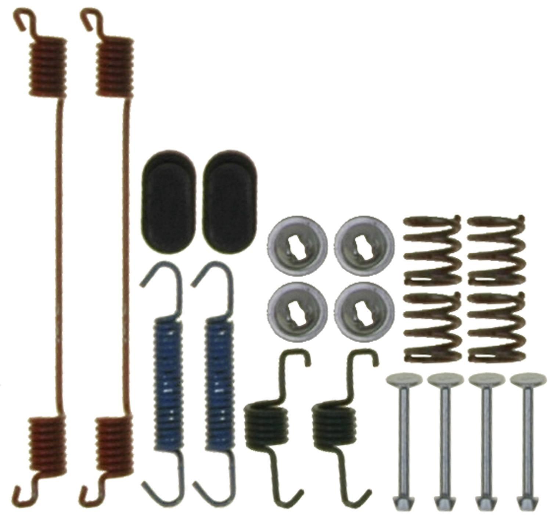 ACDELCO PROFESSIONAL BRAKES - Drum Brake Hardware Kit - ADU 18K17479