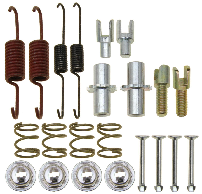 ACDELCO GOLD/PROFESSIONAL BRAKES - Parking Brake Hardware Kit (Rear) - ADU 18K17485