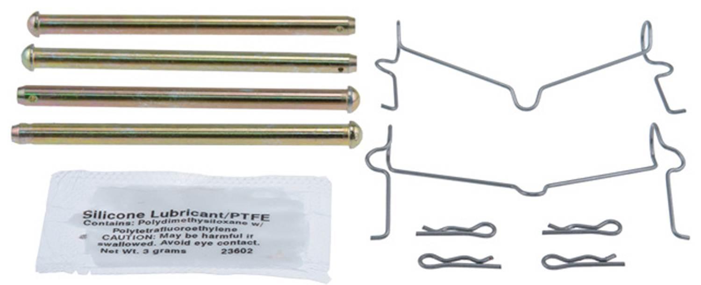 ACDELCO GOLD/PROFESSIONAL BRAKES - Disc Brake Hardware Kit (Front) - ADU 18K1753X