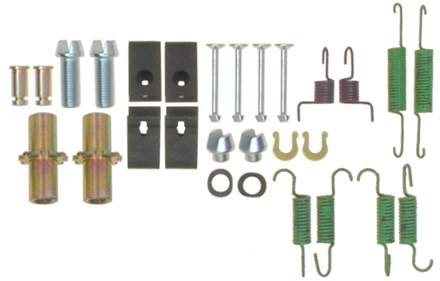 ACDELCO GOLD/PROFESSIONAL BRAKES - Parking Brake Hardware Kit - ADU 18K2027