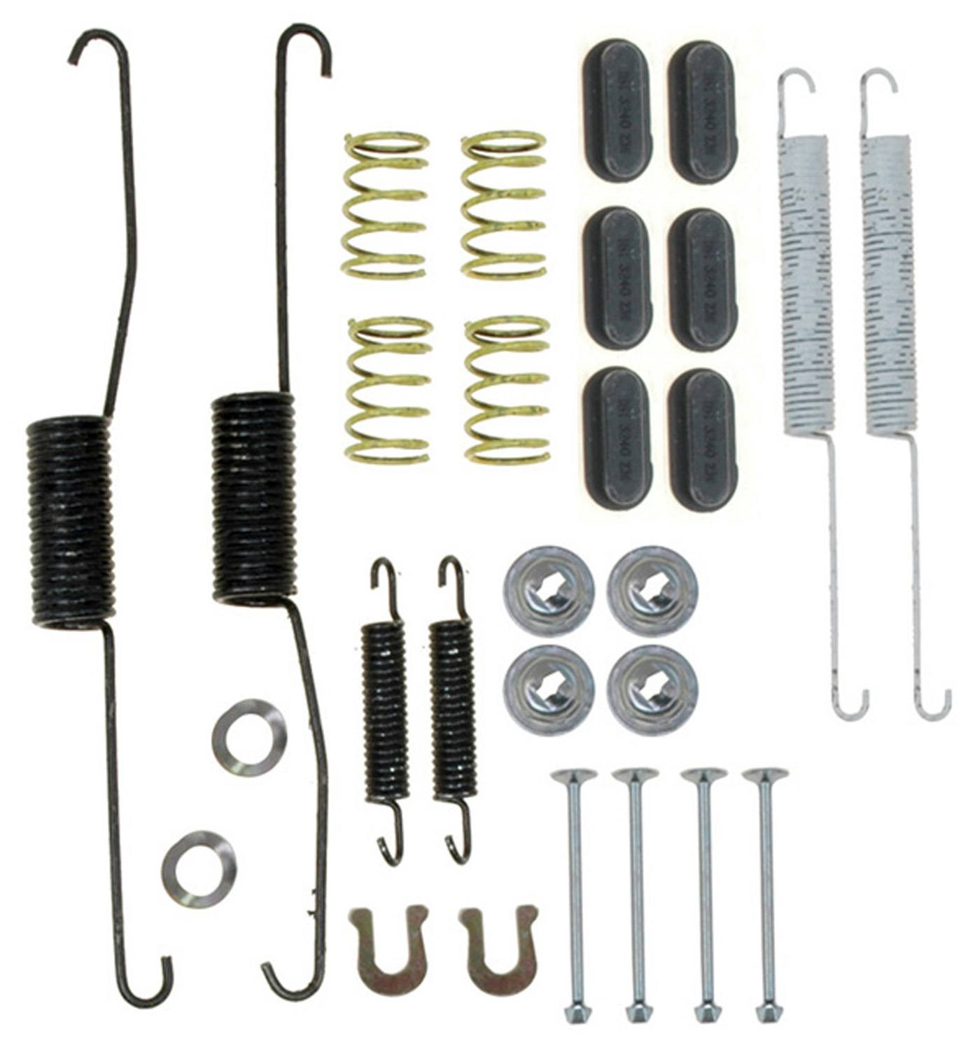 ACDELCO PROFESSIONAL BRAKES - Drum Brake Hardware Kit - ADU 18K2089