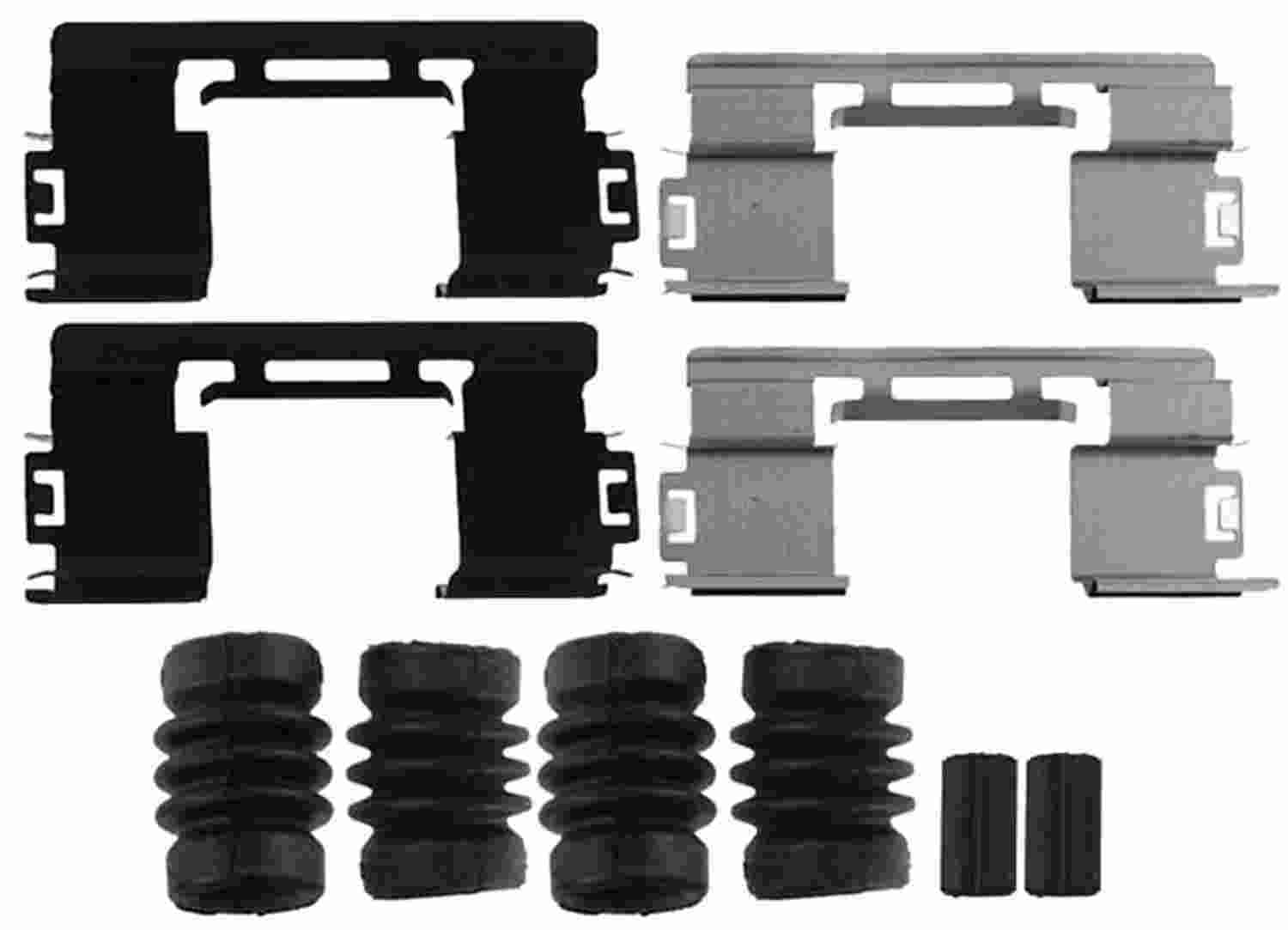 ACDELCO GOLD/PROFESSIONAL BRAKES - Disc Brake Hardware Kit (Front) - ADU 18K2119X