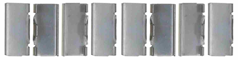 ACDELCO PROFESSIONAL BRAKES - Disc Brake Anti-Rattle Clip - ADU 18K2296