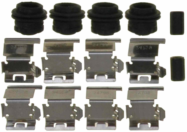 ACDELCO GOLD/PROFESSIONAL BRAKES - Disc Brake Hardware Kit (Rear) - ADU 18K2467