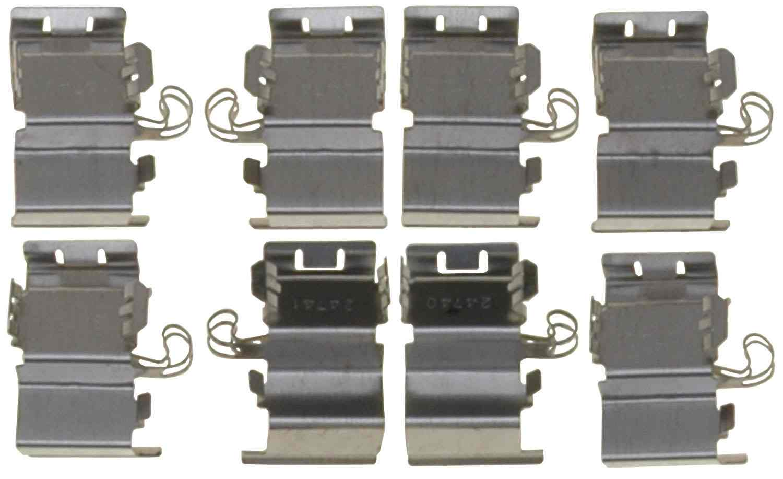 ACDELCO GOLD/PROFESSIONAL BRAKES - Disc Brake Hardware Kit (Rear) - ADU 18K2469