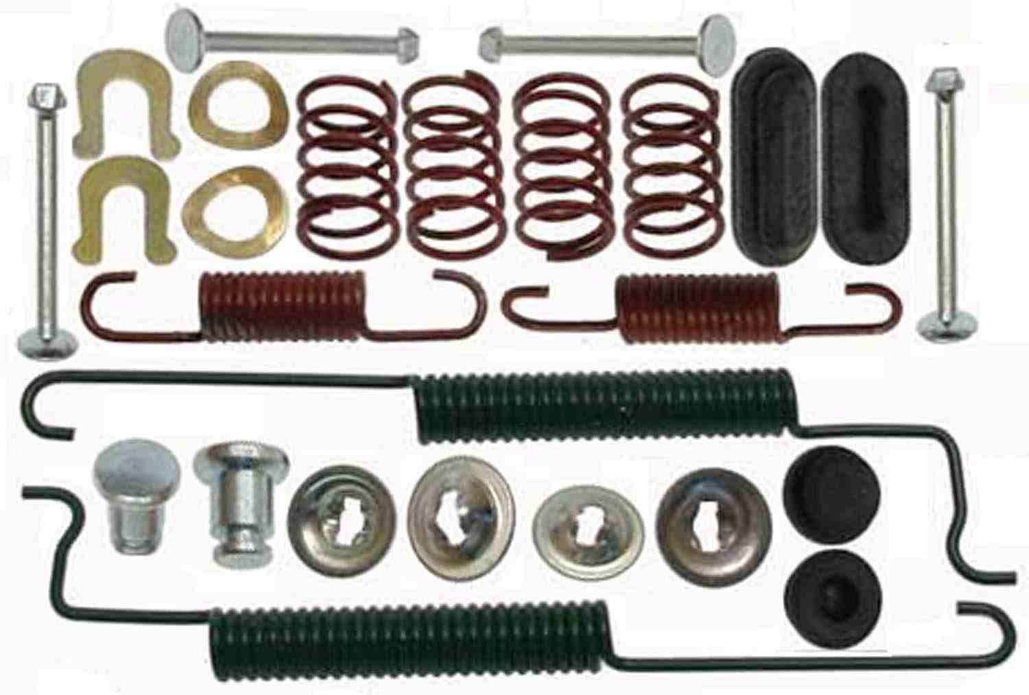 ACDELCO GOLD/PROFESSIONAL BRAKES - Drum Brake Hardware Kit (Rear) - ADU 18K2483