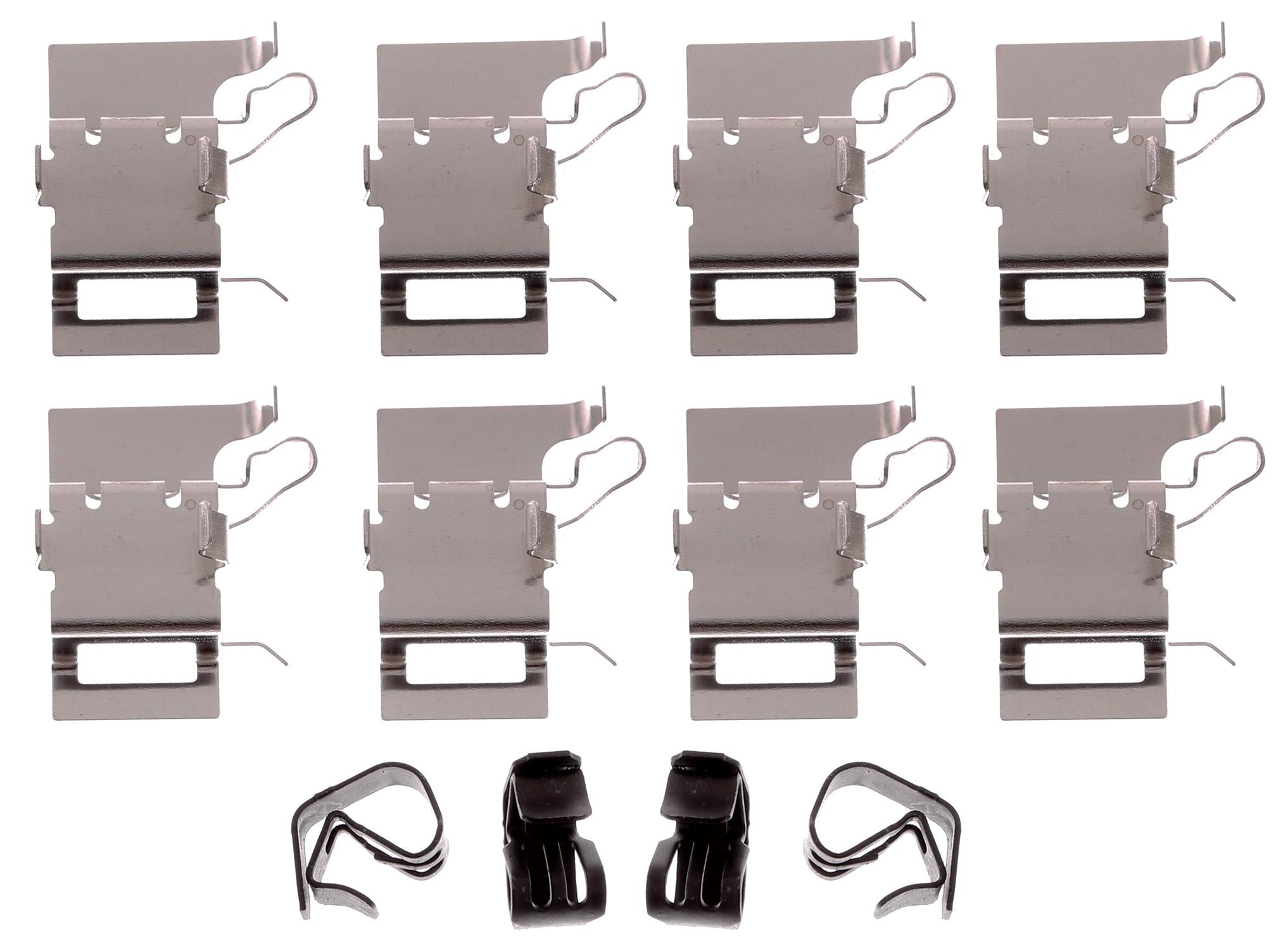 ACDELCO GOLD/PROFESSIONAL BRAKES - Disc Brake Hardware Kit (Front) - ADU 18K2537