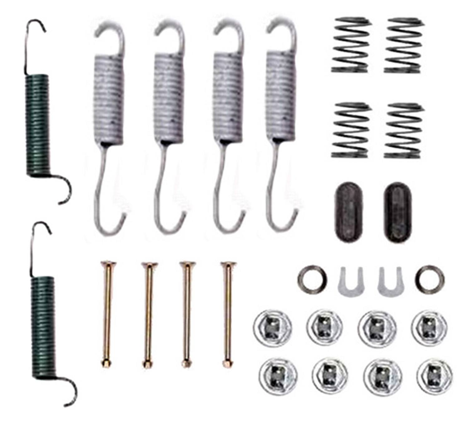 ACDELCO PROFESSIONAL  DURASTOP - Drum Brake Hardware Kit - ADU 18K558