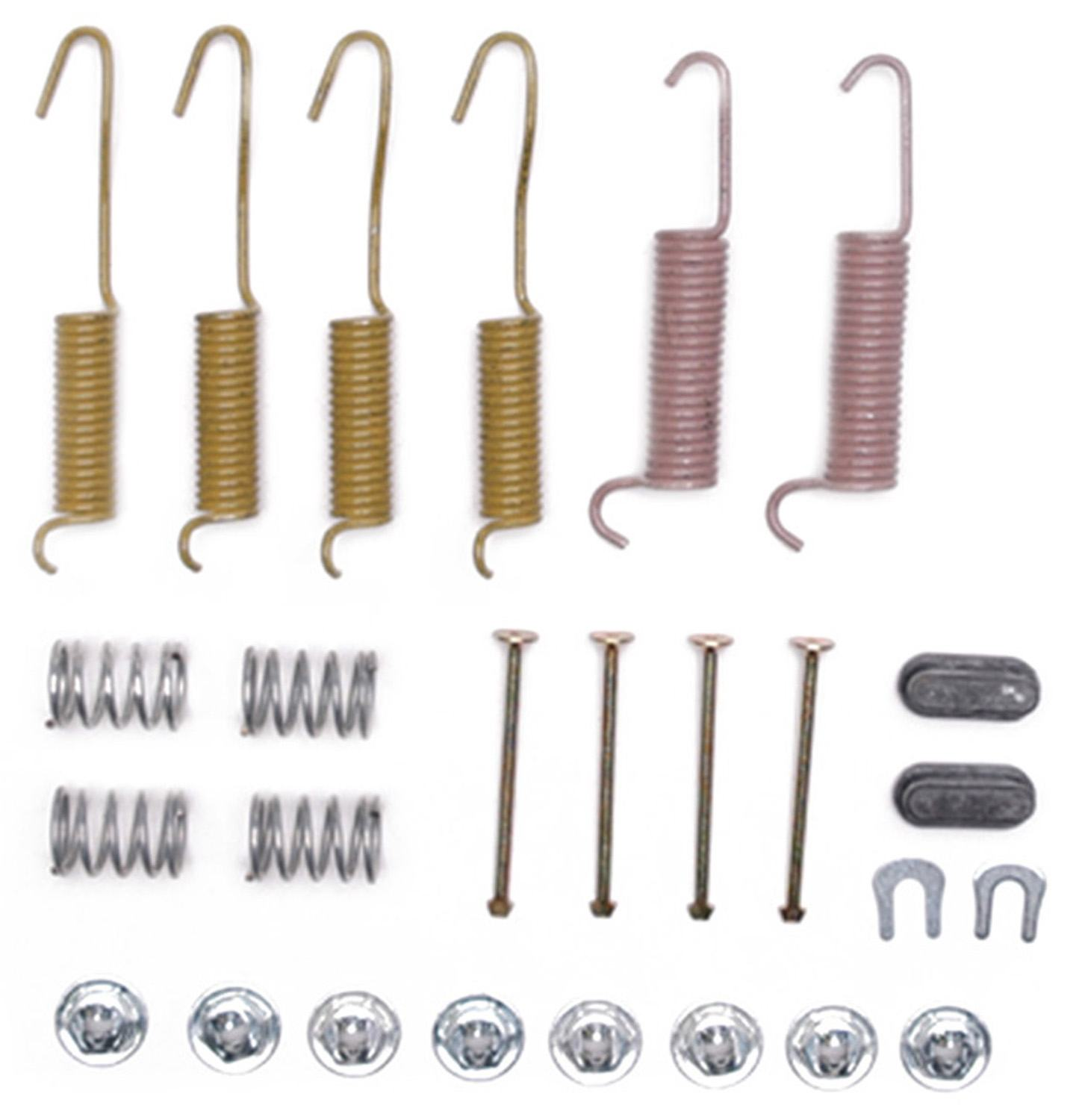 ACDELCO PROFESSIONAL  DURASTOP - Drum Brake Hardware Kit - ADU 18K573