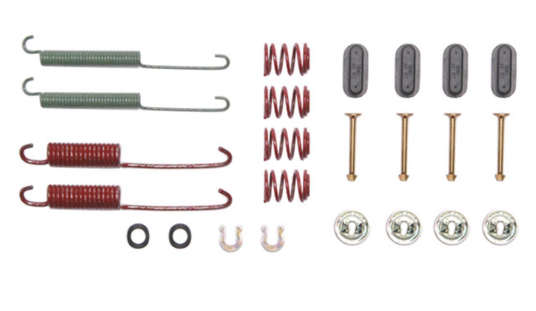 ACDELCO GOLD/PROFESSIONAL BRAKES - Drum Brake Hardware Kit (Rear) - ADU 18K580