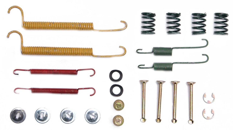 ACDELCO PROFESSIONAL  DURASTOP - Drum Brake Hardware Kit - ADU 18K595