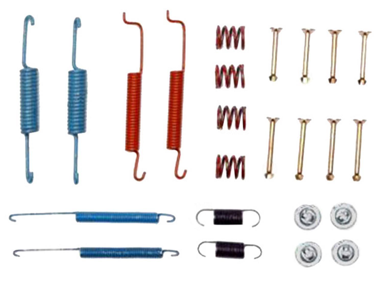 ACDELCO PROFESSIONAL BRAKES - Drum Brake Hardware Kit (Rear) - ADU 18K629