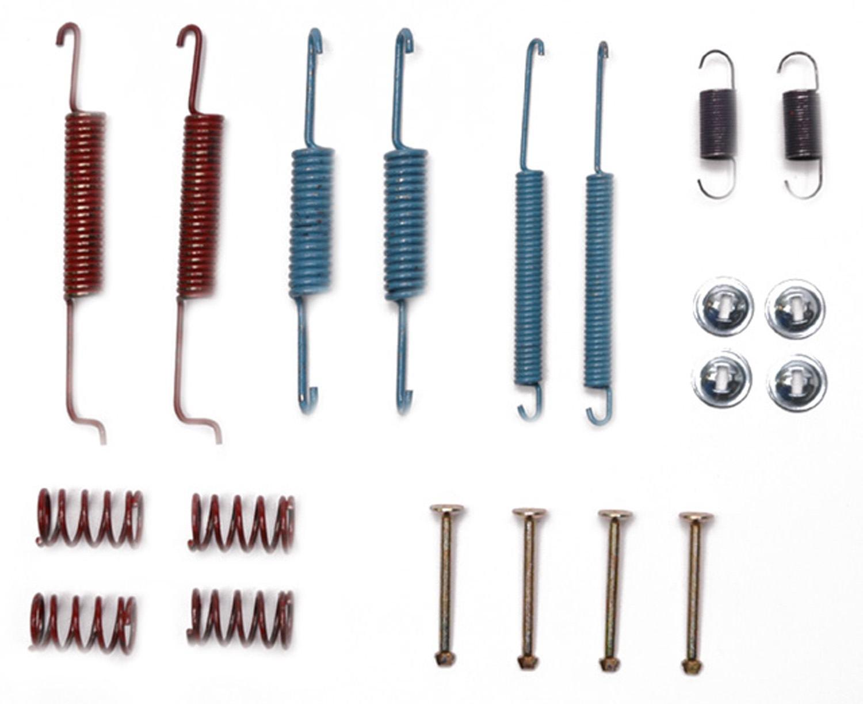 ACDELCO PROFESSIONAL BRAKES - Drum Brake Hardware Kit - ADU 18K654