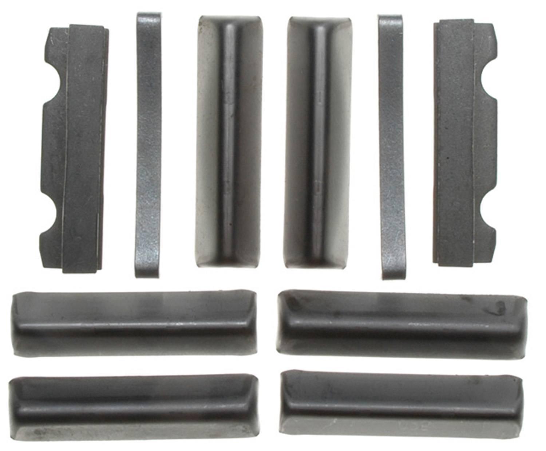 ACDELCO GOLD/PROFESSIONAL BRAKES - Disc Brake Caliper Abutment Service Kit (Front) - ADU 18K842
