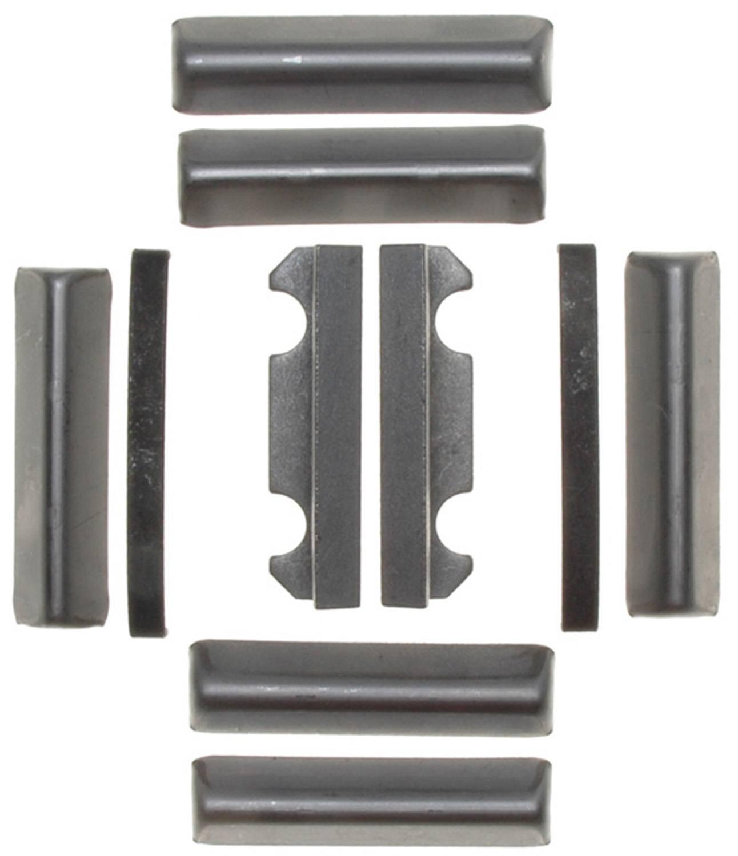 ACDELCO GOLD/PROFESSIONAL BRAKES - Disc Brake Caliper Abutment Service Kit (Front) - ADU 18K843