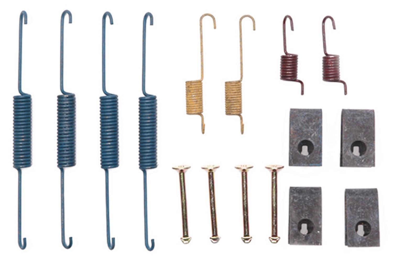 ACDELCO PROFESSIONAL BRAKES - Drum Brake Hardware Kit (Rear) - ADU 18K854