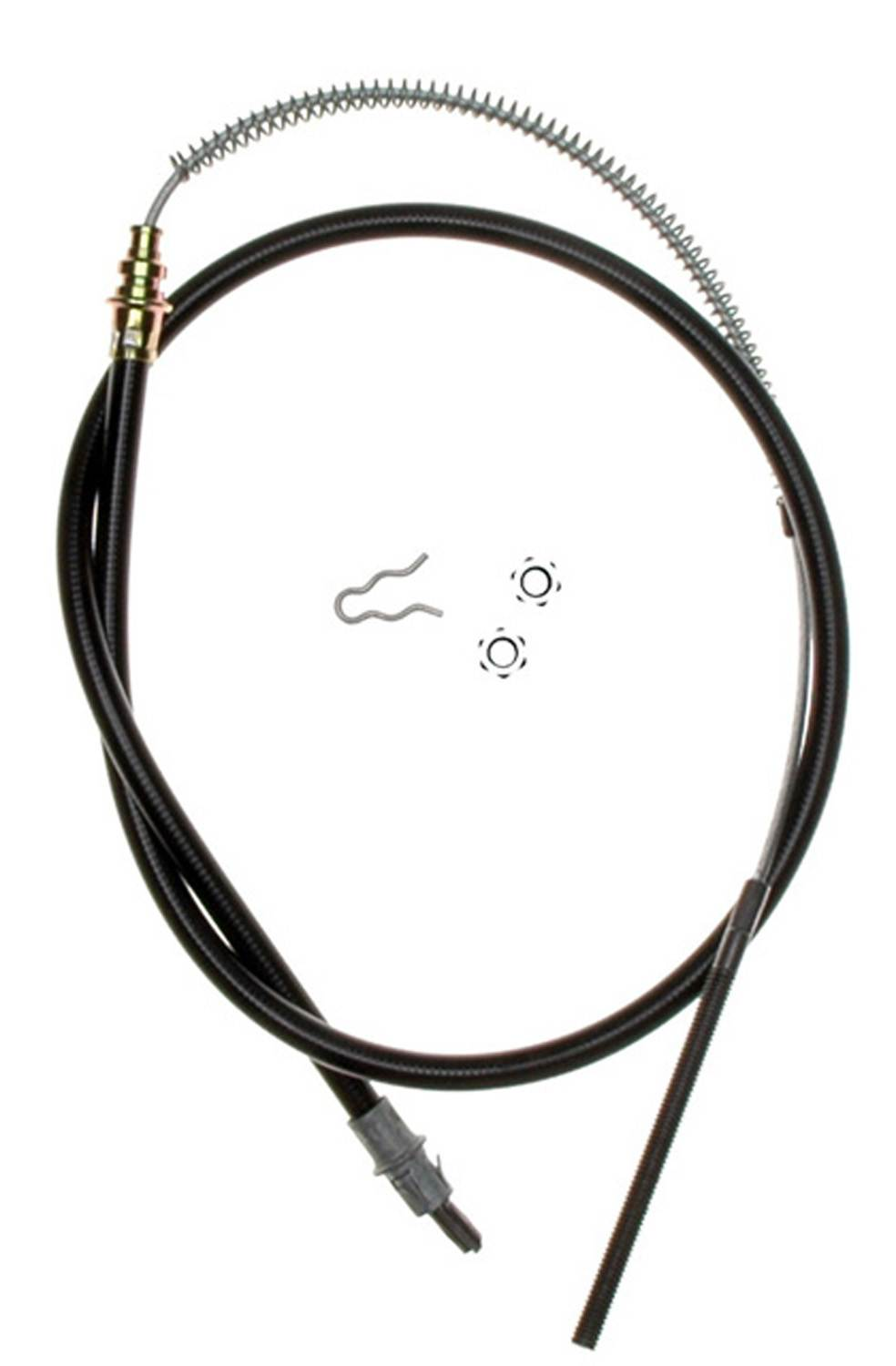 ACDELCO GOLD/PROFESSIONAL BRAKES CANADA - Parking Brake Cable (Front) - DCO 18P2255