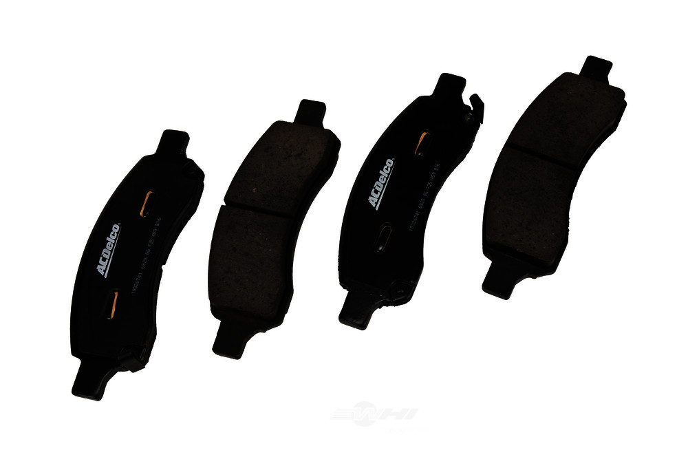 ACDELCO GOLD/PROFESSIONAL BRAKES - Ceramic Disc Brake Pad (Front) - ADU 17D1169CH