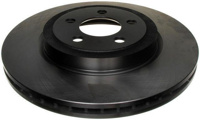 ACDELCO SILVER/ADVANTAGE - Non-Coated Disc Brake Rotor (Front) - DCD 18A2343A