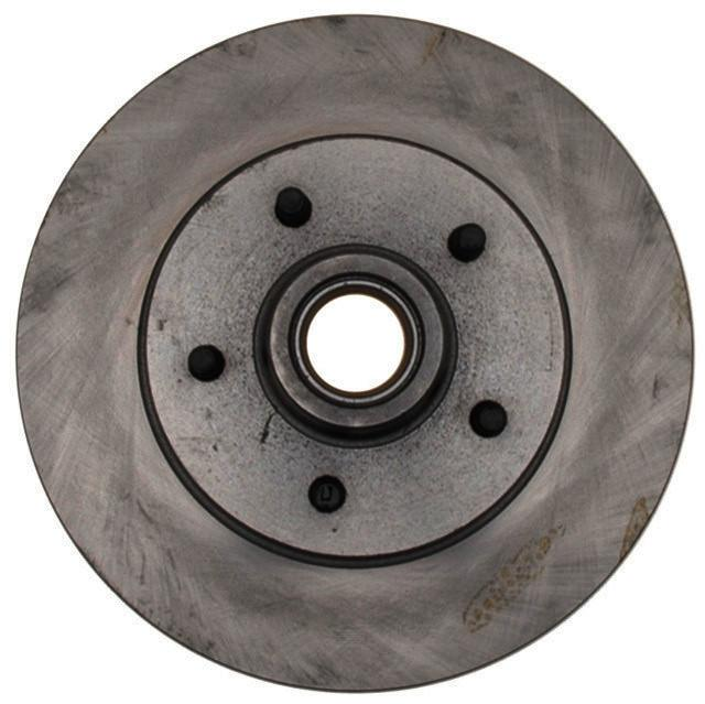 ACDELCO SILVER/ADVANTAGE - Non-Coated Disc Brake Rotor & Hub Assembly ( Without ABS Brakes, With ABS Brakes, Front) - DCD 18A2A