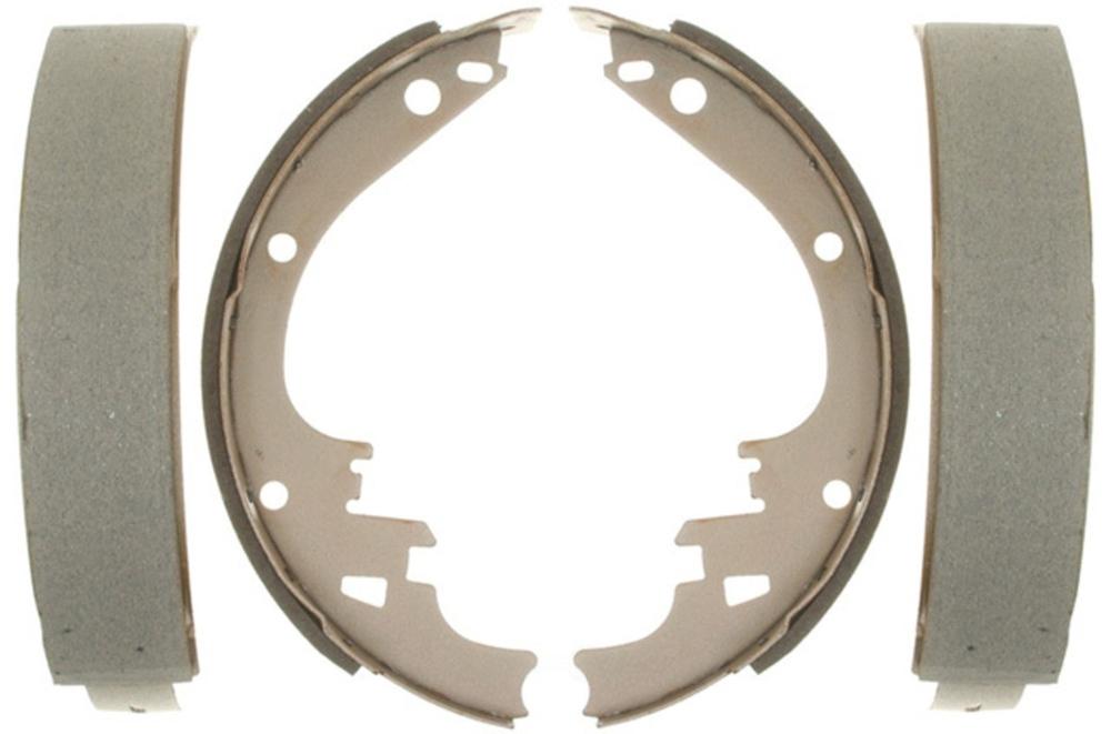 ACDELCO SILVER/ADVANTAGE - Bonded Drum Brake Shoe - DCD 14462B