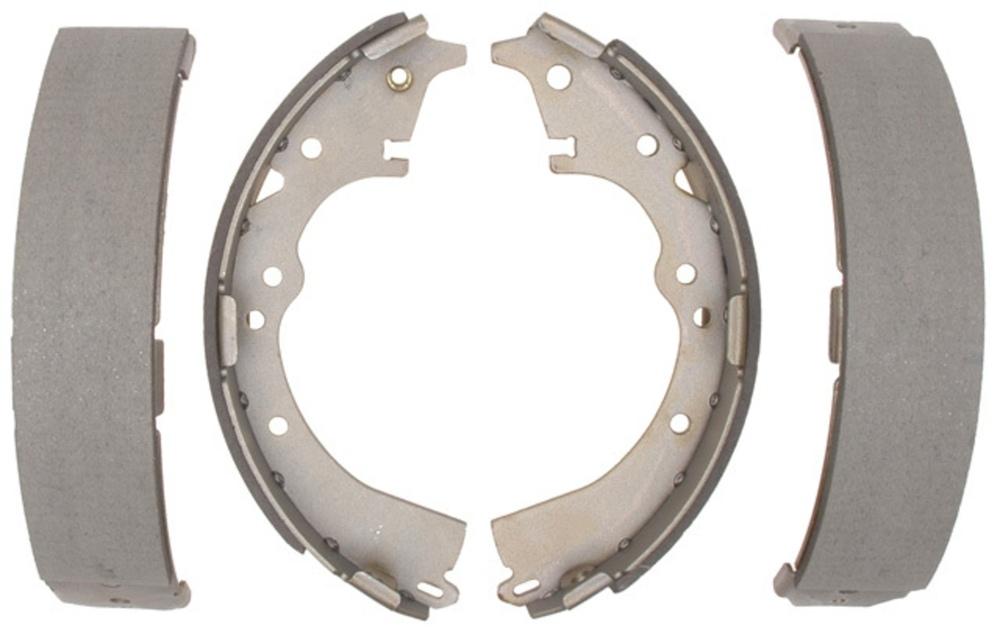 ACDELCO SILVER/ADVANTAGE - Bonded Drum Brake Shoe - DCD 14505B
