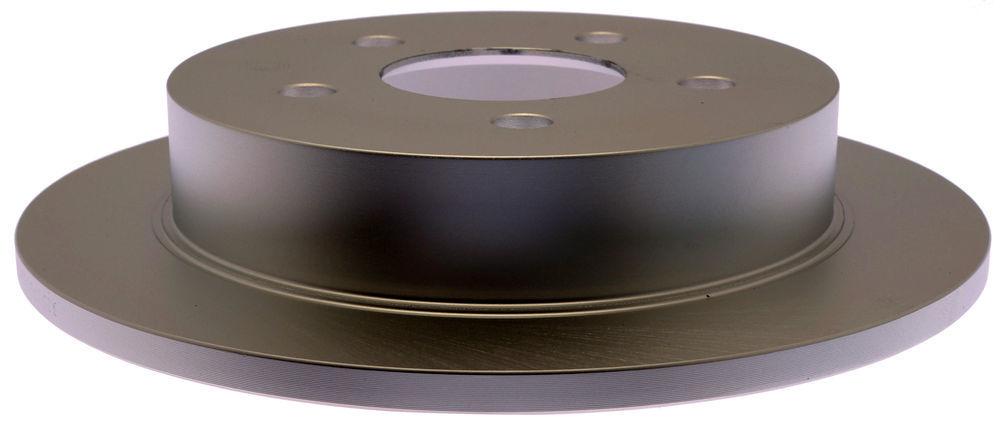 ACDELCO SILVER/ADVANTAGE - Coated Disc Brake Rotor (Rear) - DCD 18A811AC