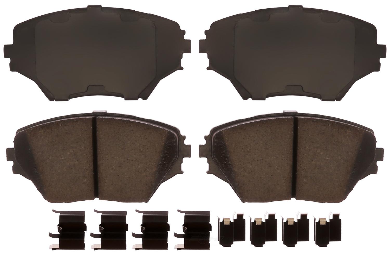 ACDELCO PROFESSIONAL BRAKES - Ceramic Disc Brake Pad (Front) - ADU 17D862CHF1