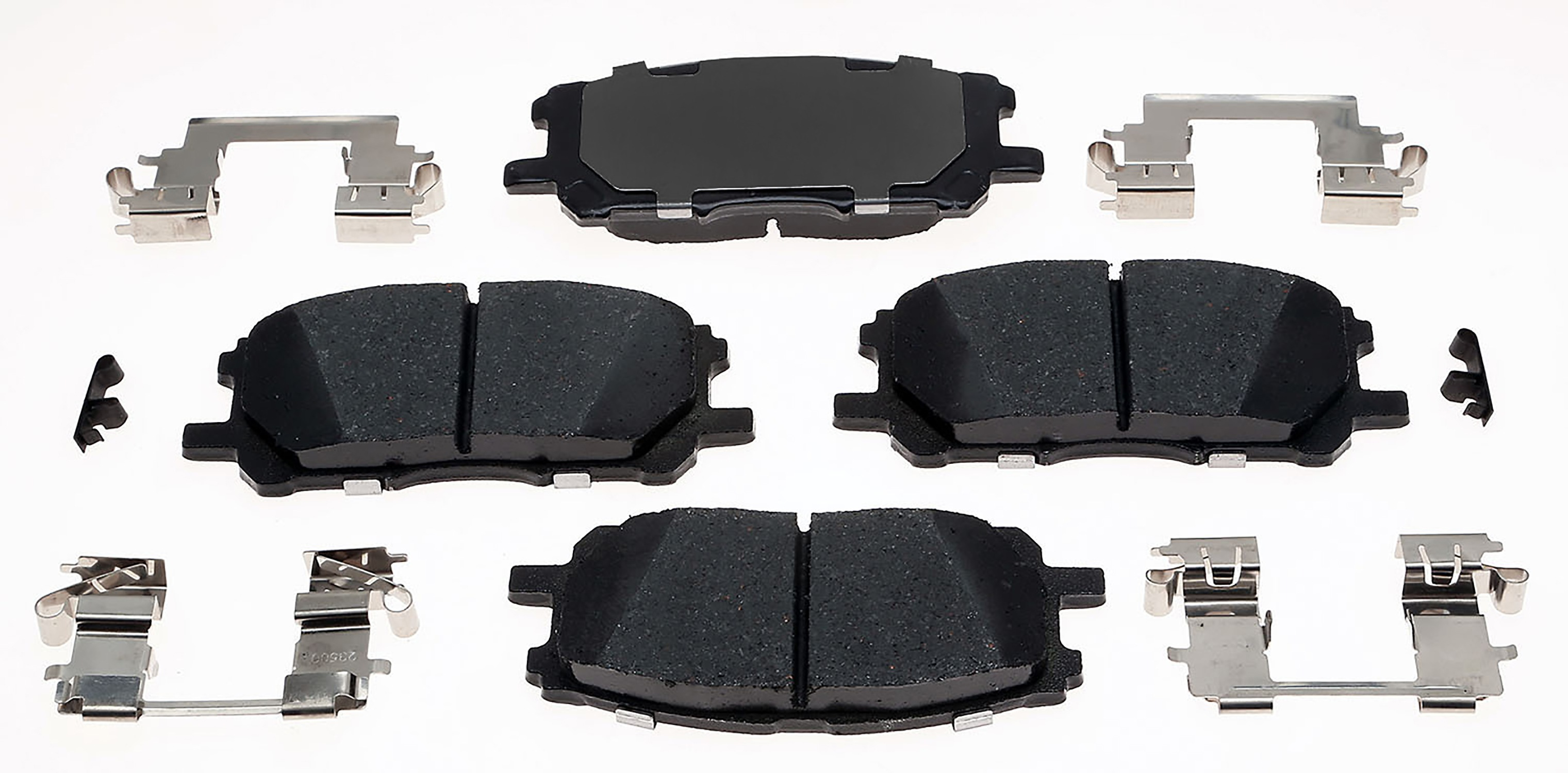 ACDELCO GOLD/PROFESSIONAL BRAKES - Ceramic Disc Brake Pad - ADU 17D1005CH