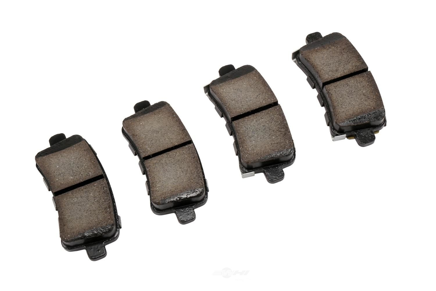 ACDELCO GOLD/PROFESSIONAL BRAKES - Ceramic Disc Brake Pad (Rear) - ADU 17D1430CHF1