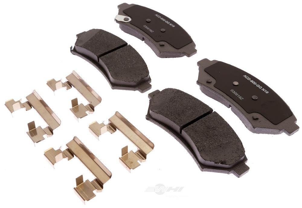 ACDELCO SILVER/ADVANTAGE - Ceramic Disc Brake Pad (Front) - DCD 14D699CHF1
