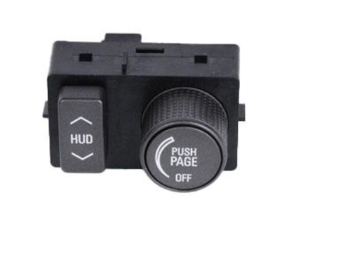 ACDELCO GM ORIGINAL EQUIPMENT - Heads Up Display Switch - DCB 20759185