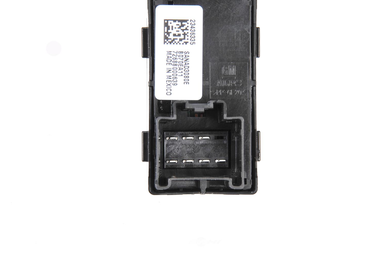 ACDELCO GM ORIGINAL EQUIPMENT - Door Window Switch (Rear) - DCB 23436335