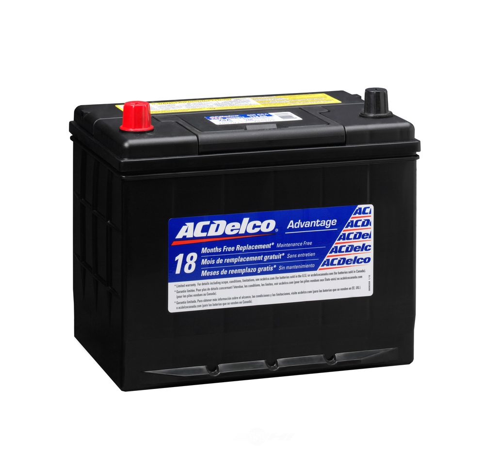 ACDELCO SILVER/ADVANTAGE - Vehicle Battery - DCD 24A