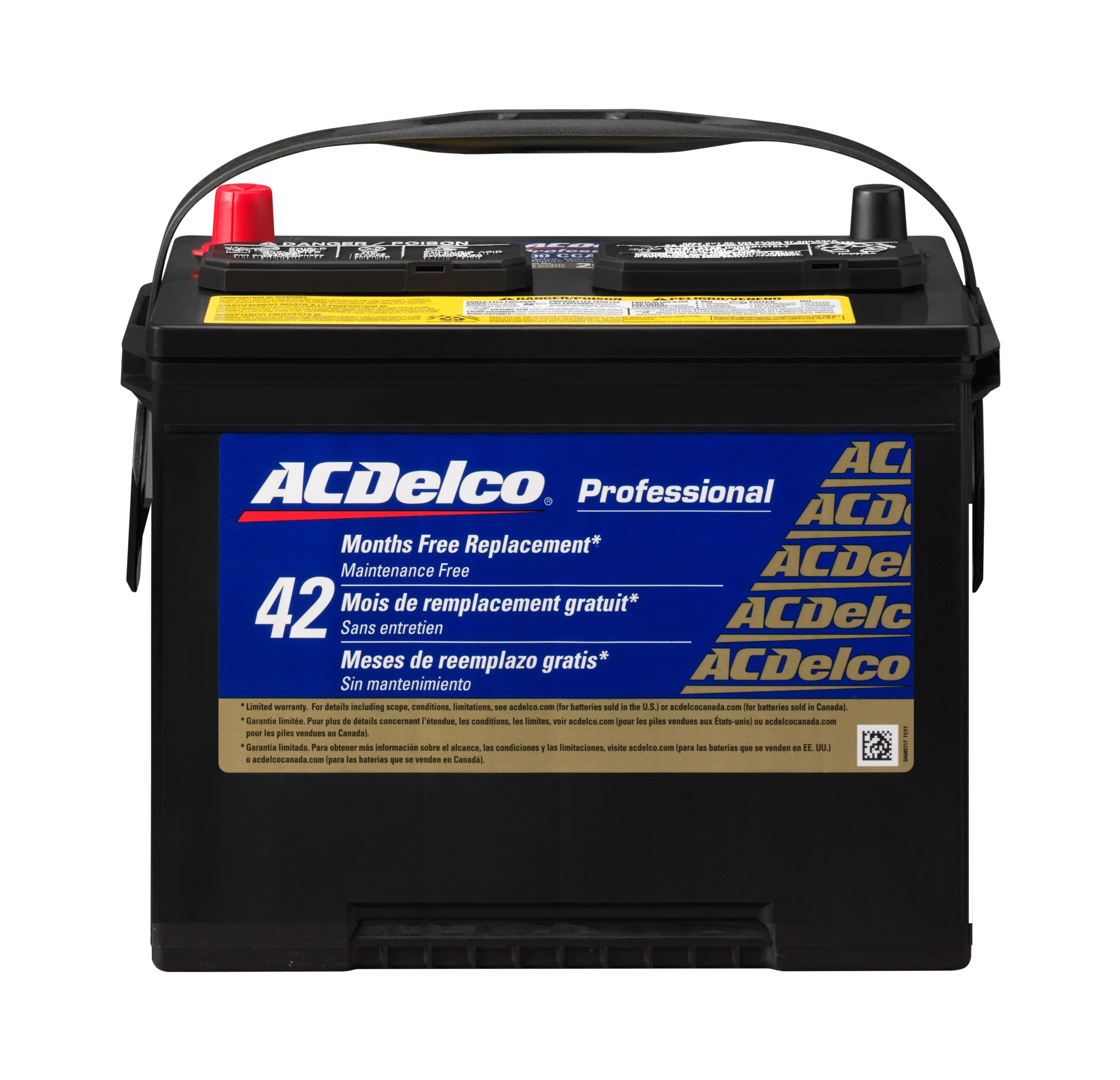 2010 toyota corolla batteries parts acdelco. Black Bedroom Furniture Sets. Home Design Ideas