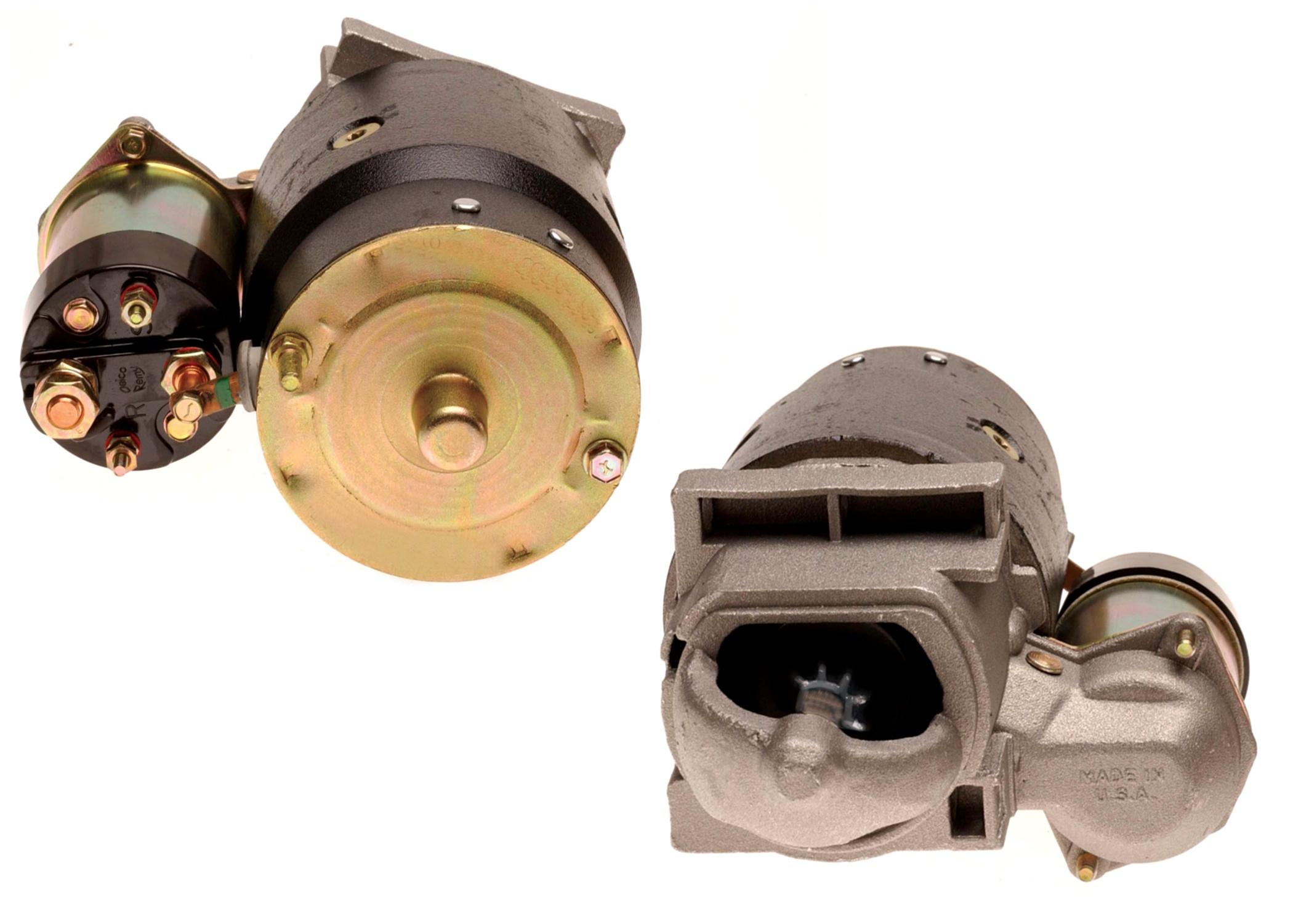 ACDELCO GM ORIGINAL EQUIPMENT - Reman Starter Motor - DCB 323-368