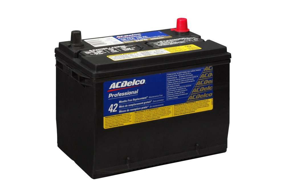 ACDELCO PROFESSIONAL BATTERY - 42 Month Free Replacement Battery - D60 34PG
