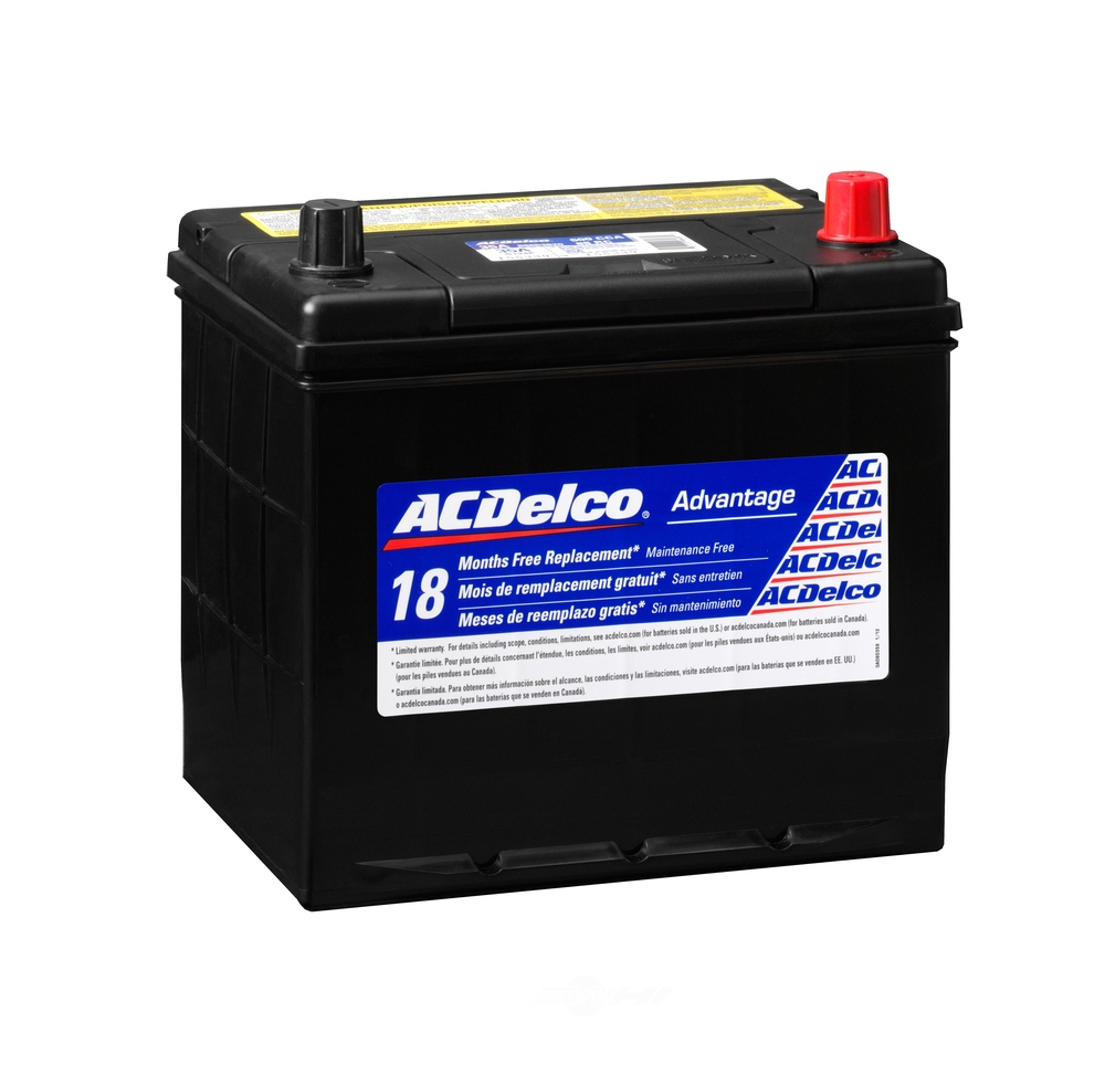 ACDELCO SILVER/ADVANTAGE - Vehicle Battery - DCD 35A