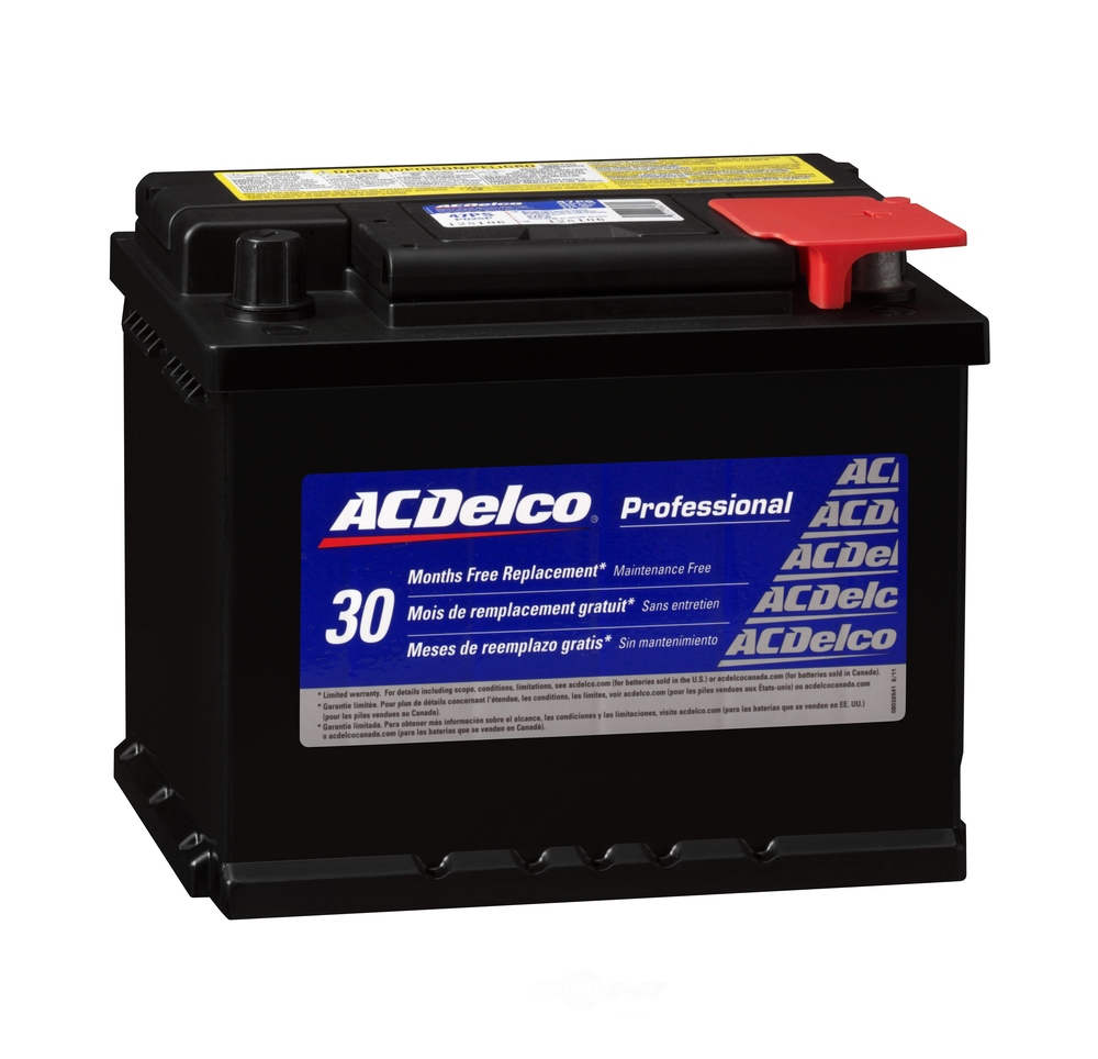 ACDELCO PROFESSIONAL - 30 Month Free Replacement Battery - DCC 47PS