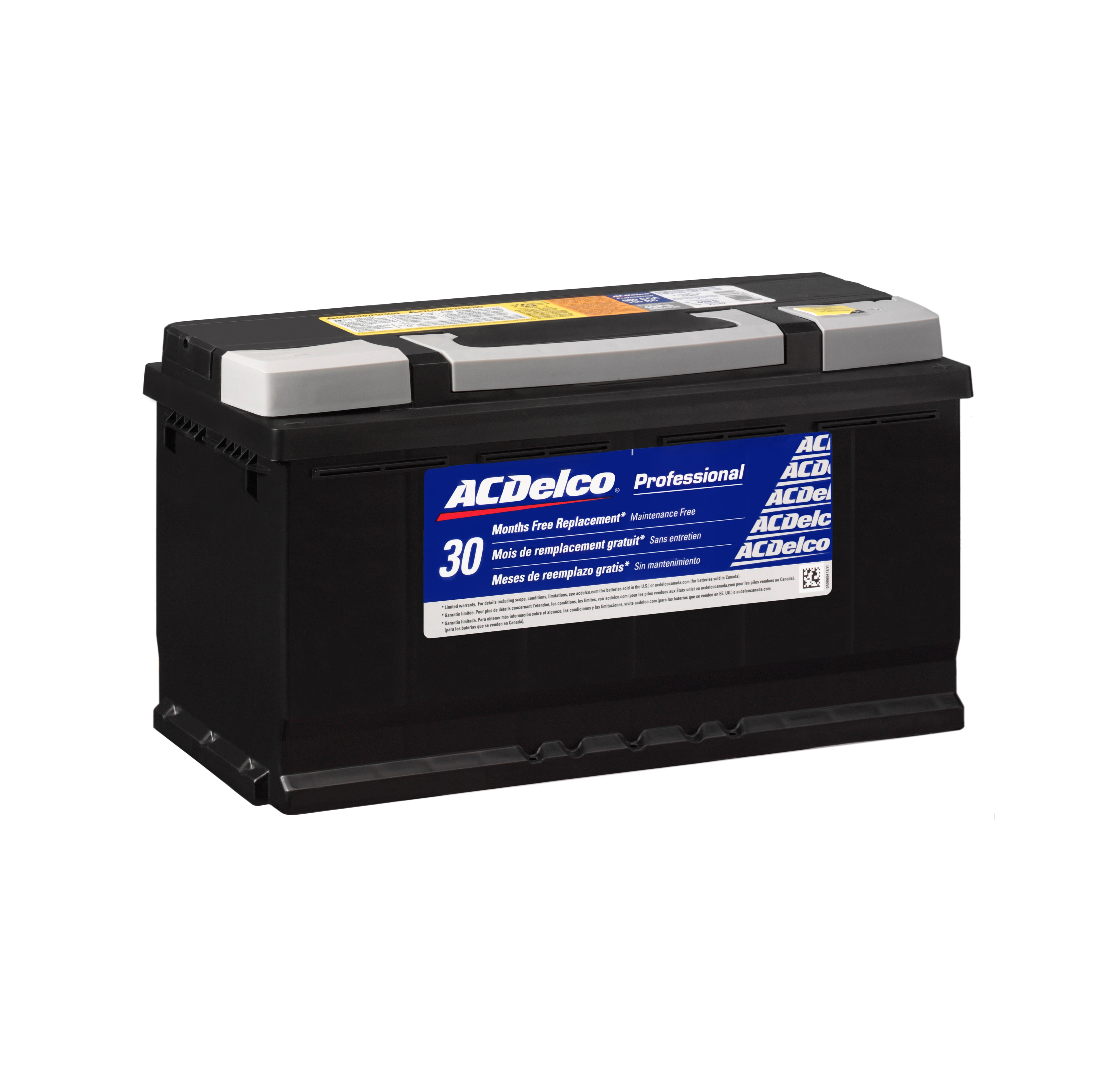 ACDELCO PROFESSIONAL - 30 Month Free Replacement Battery - DCC 49PS